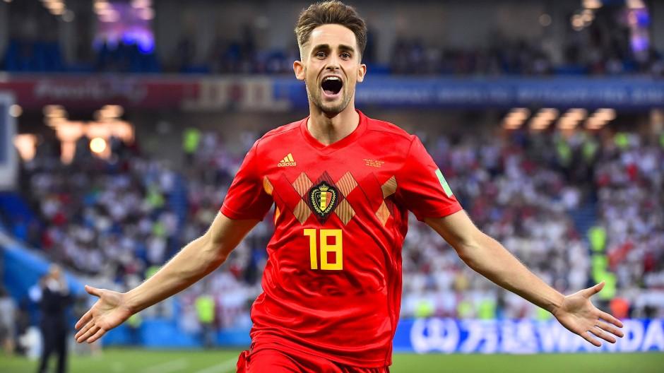 Torschütze für Belgien: Adnan Januzaj nach seinem Treffer zum 1:0.
