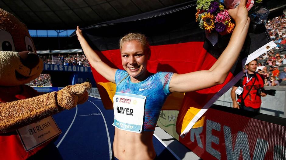 Das Beste zum Schluss: Lisa Mayer läuft 100-Meter-Bestzeit in Berlin