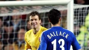 Remis zwischen Ballack und Lehmann
