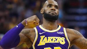 Erster Sieg von LeBron James mit den Lakers