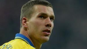 Podolski spricht über Arsenal-Abschied