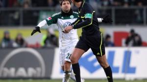 Wolfsburgs Dzeko so schlecht wie Frings