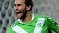 Bas Dost schoss schon für den VfL Wolfsburg viele Tore in der Bundesliga.