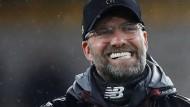 Jürgen Klopp und er FC Liverpool haben dieser Tage gut lachen.