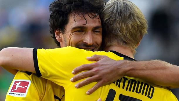 Dortmunder Glückstor durch den unglaublichen Haaland