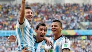 Messi ist Argentiniens Liebling