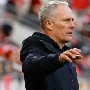Am Ende erleichtert: Freiburg-Trainer Christian Streich in Mainz