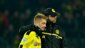 Auf dem Weg zu Titeln? Reus und Trainer Jürgen Klopp (rechts)