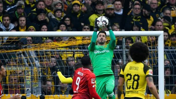 Der BVB bleibt dank Bürki im Rennen