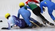 Eislaufunion in Schräglage: Das Veranstaltungsmonopol für Sportverbände könnte kippen