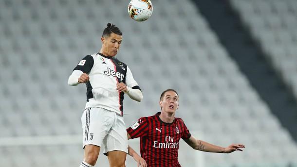 Juventus torlos ins Pokalfinale