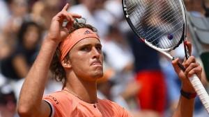 Zverev und der nächste Tennis-Krimi