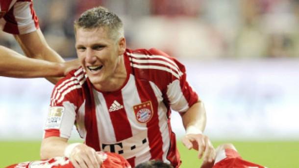 Saisonauftakt mit Bayern-Dusel