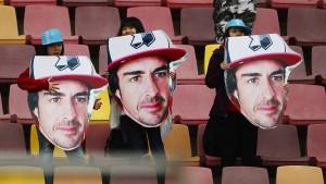 Alonsos Vergleich mit Michael Schumacher