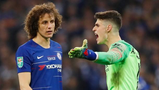 Chelsea-Torwart sorgt für Eklat in Wembley