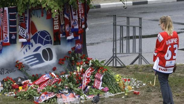 Trauer in russland 27 eishockey spieler kamen ums leben