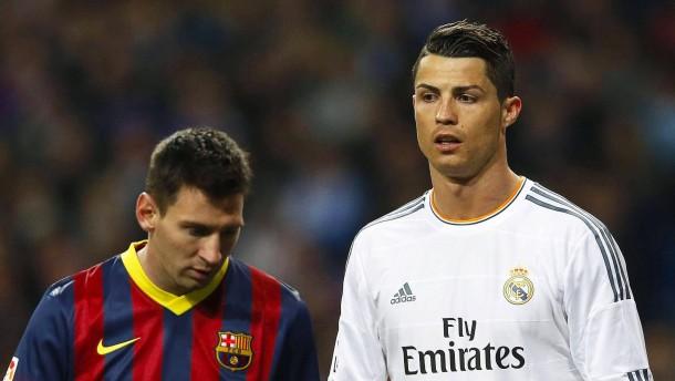 Sind Messi und Ronaldo robuster als Reus?