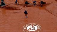 Abbruch in Roland Garros zum Auftakt