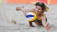 Laura Ludwig sieht auch als Olympiasiegerin noch genügend Spielraum nach oben.