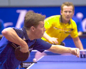 Fast unschlagbar: Jan-Ove Waldner