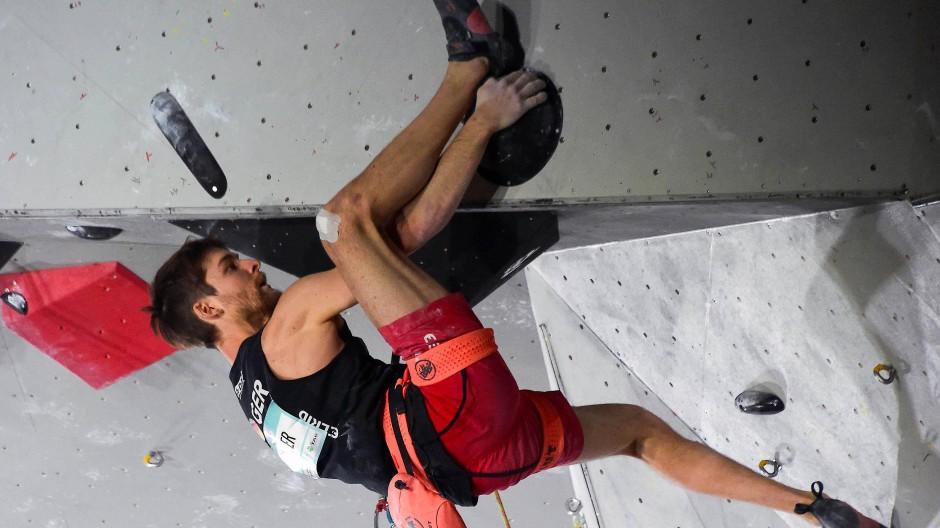 """Spiderman"" am Ziel: Jan Hojer darf bei Olympia klettern"