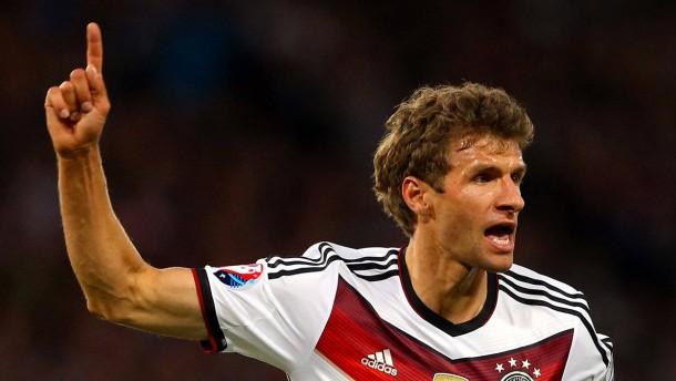 Müller ist der Mann des Abends