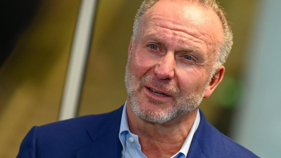 """""""Wir haben großes Interesse daran, dass der DFB in ruhiges Fahrwasser kommt"""": Karl-Heinz Rummenigge"""