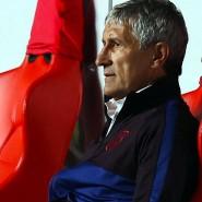 Für Trainer Quique Setien dürfte die Zeit beim FC Barcelona schon wieder abgelaufen sein.