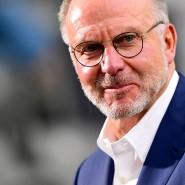 Karl-Heinz Rummenigge und die Bayern stehen in der Tabelle immer noch vorne.