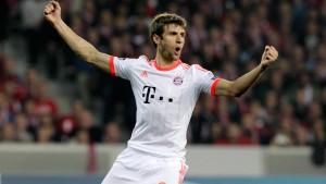 Müller bringt die Bayern auf Kurs