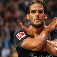 Auf den Spuren der Büffel: Goncalo Paciência überzeugt bei Eintracht Frankfurt.