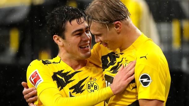 Haaland trifft und befreit die Dortmunder
