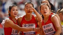 Das kuriose Drama der chinesischen Frauen-Staffel