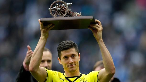 Top-Torjäger Lewandowski schießt BVB zum Sieg