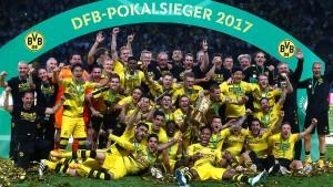 Dortmunder Happy End mit DFB-Pokalsieg