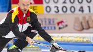 Skip Baumann: mit sieben Niederlagen in Serie das Turnier beendet