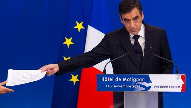 Frankreich spart