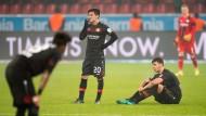 Leverkusen tritt auf der Stelle