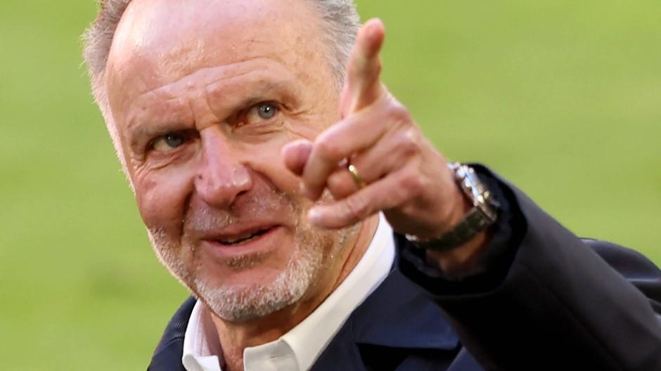 Bald ist Schluss bei den Bayern: Karl-Heinz Rummenigge