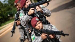 Scharfschützen für die WM