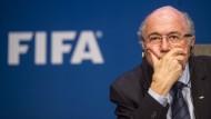 """""""Ich bin weder reif für das Museum noch fürs Wachsfigurenkabinett!"""": Joseph Blatter"""