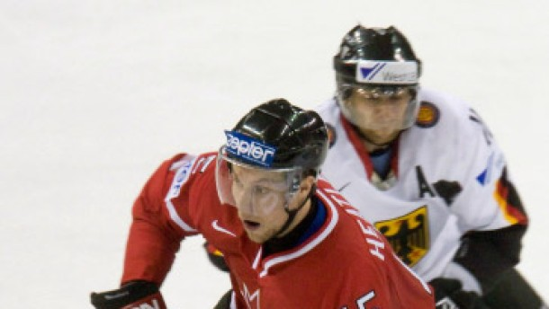 Dany Heatley mit Kanada im Traumfinale gegen Russland