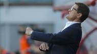 In Rücklage geraten: Fabio Capello steht unter Druck