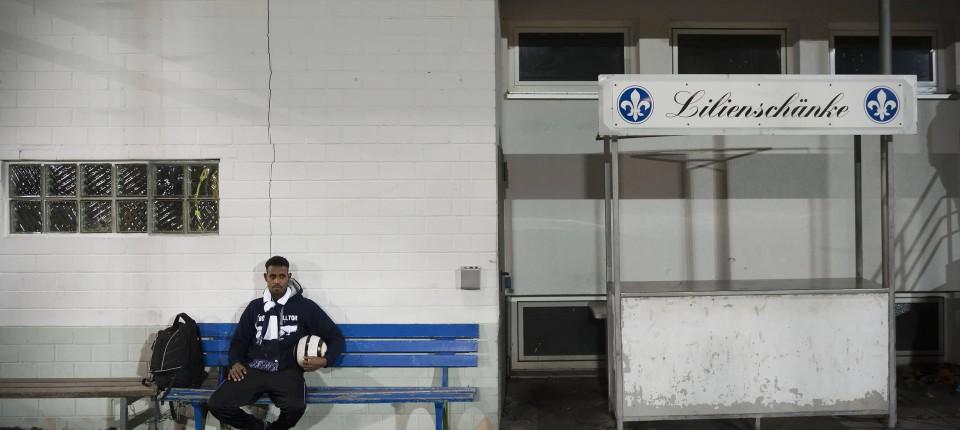 Yussuf aus Somalia: Fluchtpunkt Fußball - Fußball - FAZ