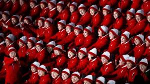 Die Jubelfrauen des Kim Jong-un