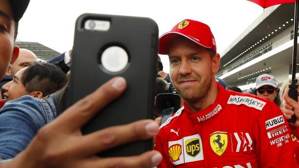 Ferraris Gegner warten auf den nächsten Fehler
