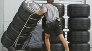 Walzen-Wettkampf: Alle reden von Reifen