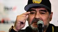 Nächste Station Mexiko: Nun ist Diego Maradona in der zweiten Liga angekommen.
