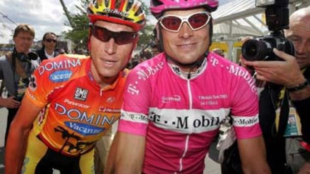 Dopingverdacht gegen T-Mobile-Profi Ludewig