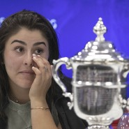 Auf der Pressekonferenz kamen der coolen Kanadierin dann doch ein paar Tränen